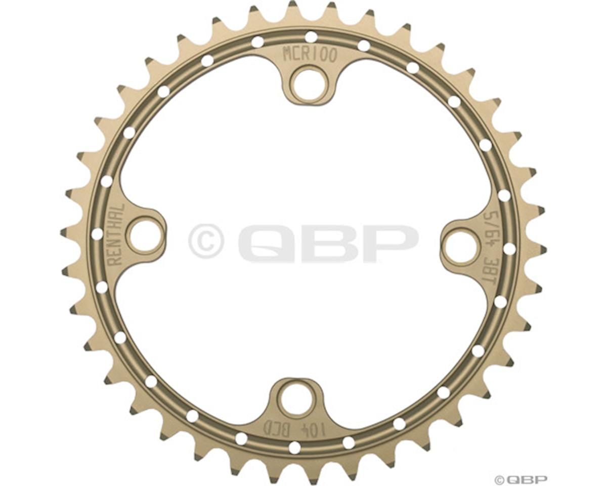 Renthal SR4 Chainring (32T) (104mm BCD) (Gold)