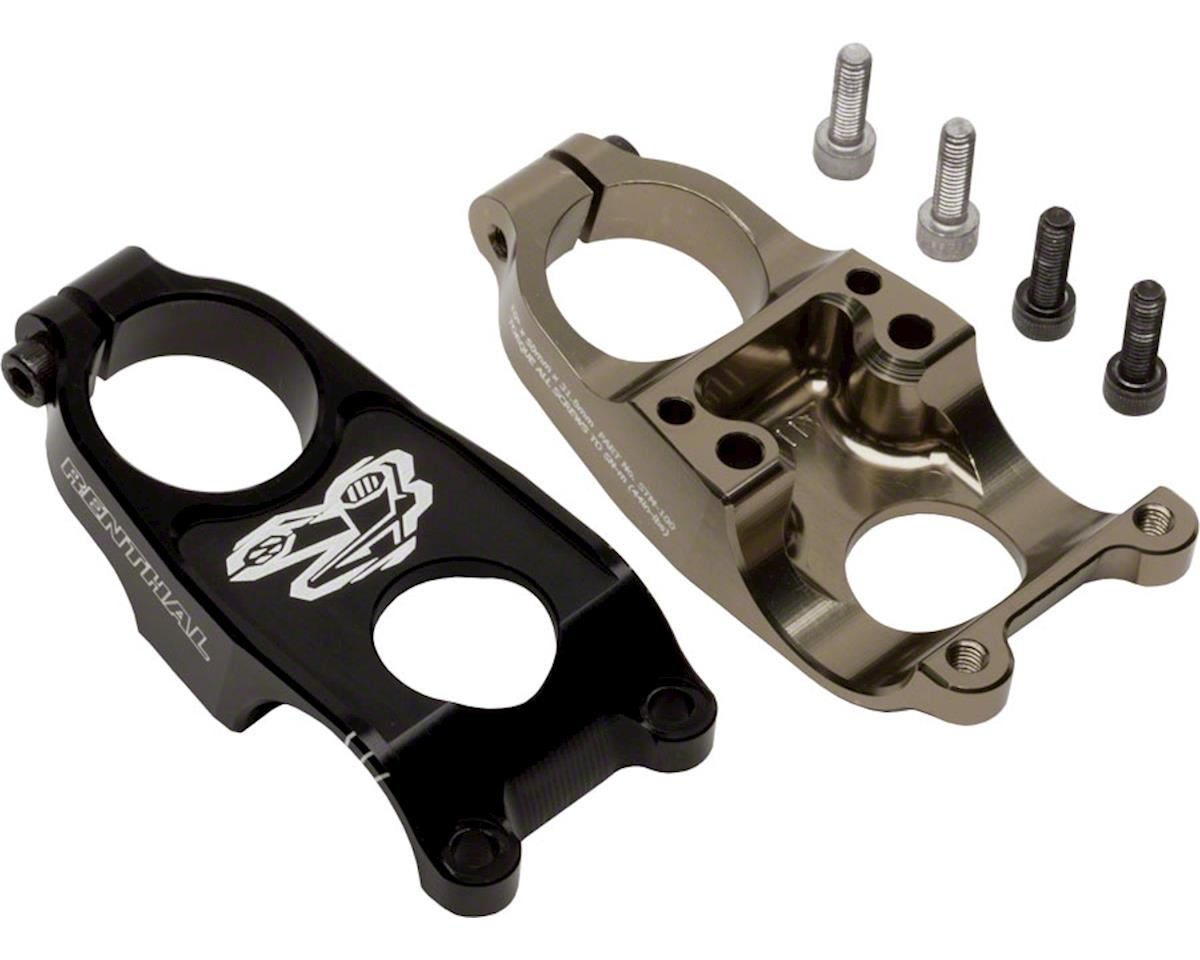 """Renthal Duo Stem (Black/Gold) (31.8mm Clamp) (1-1/8"""") (50mm Length) (+/-10°)"""