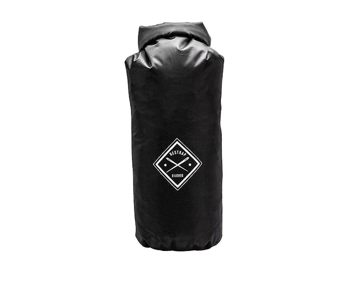 Restrap Dry Bag Single Roll, 8 liter - black