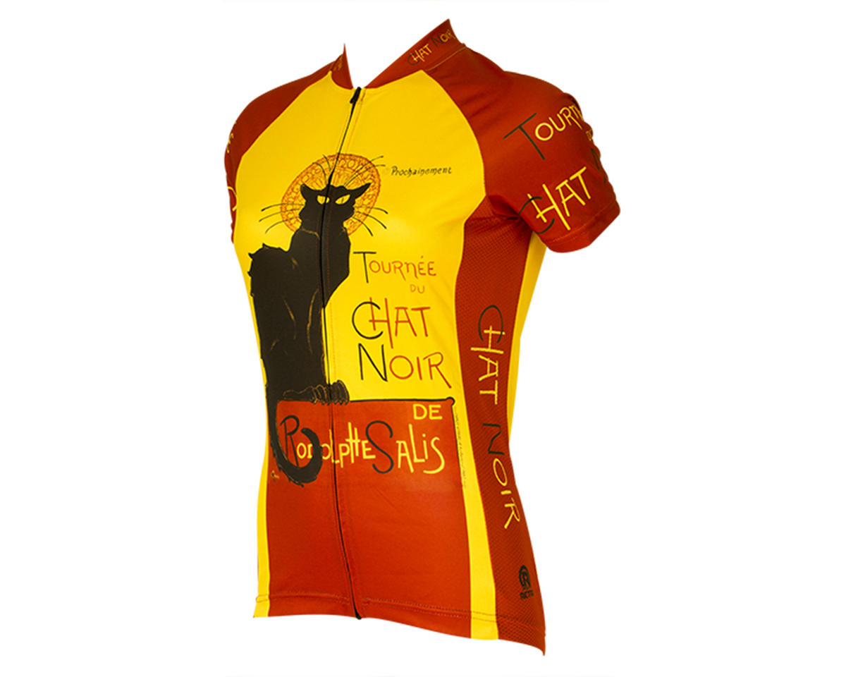 Retro Chat Noir Women's Jersey