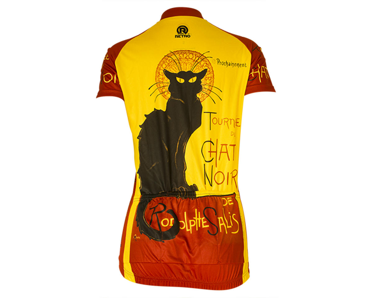 Retro Chat Noir Women's Jersey (M)