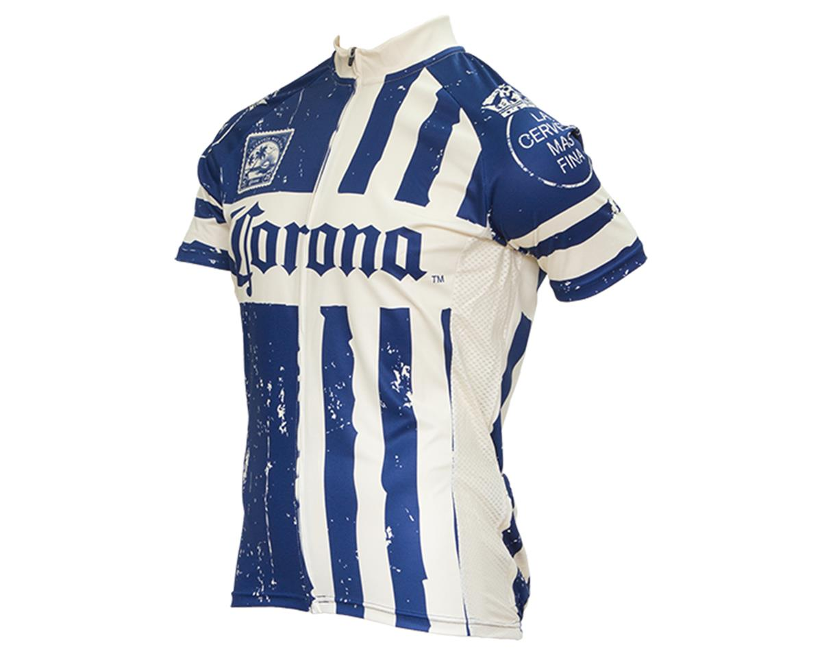 Retro Corona Stamp Men's Jersey