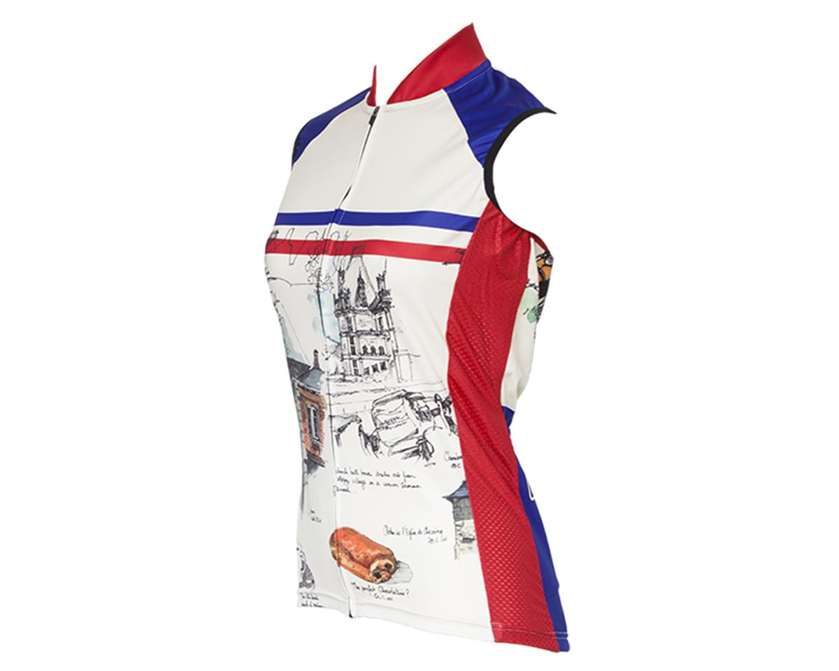 Retro La France Women's Sleeveless Jersey