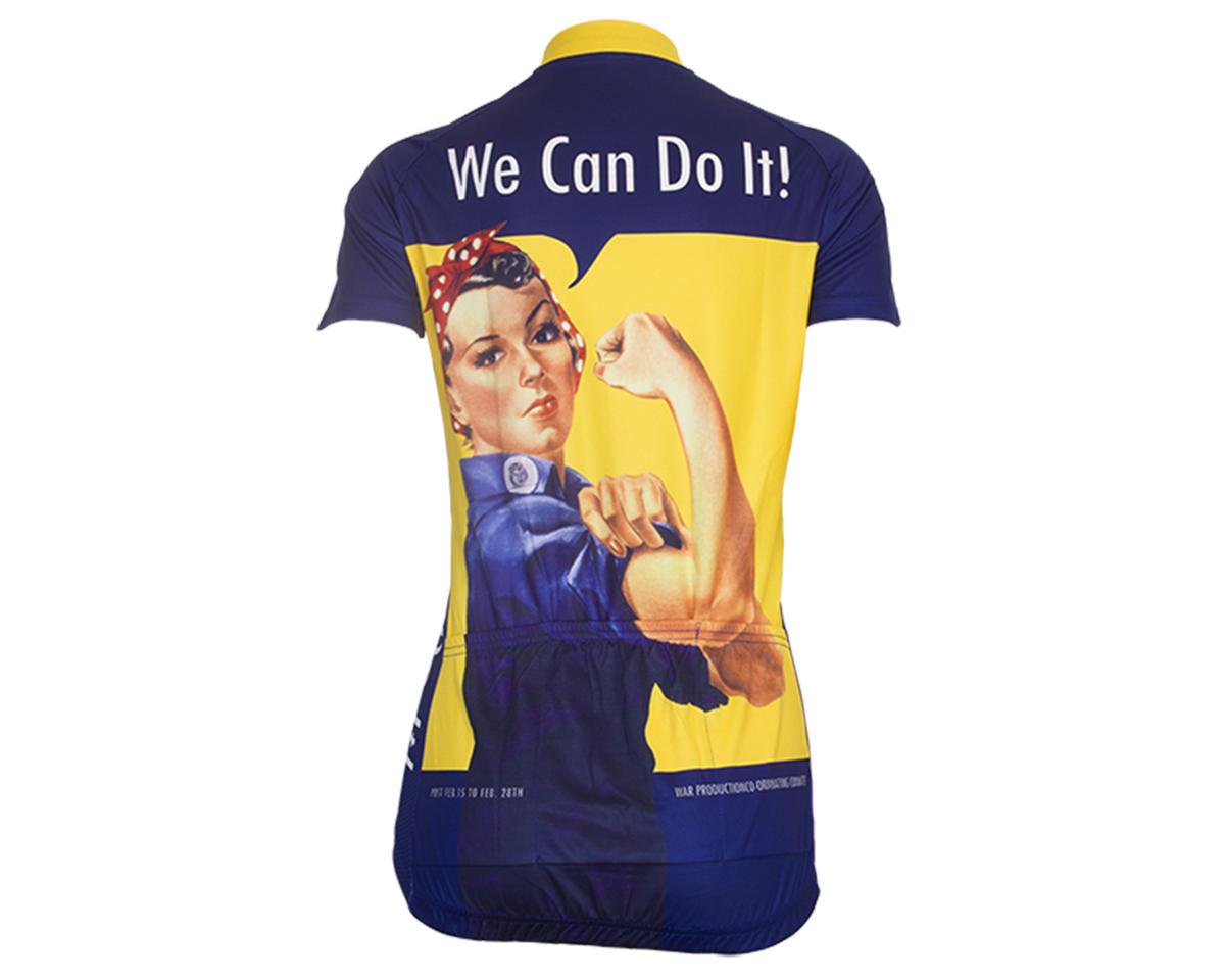 Retro Rosie the Riveter Women's Jersey (L)