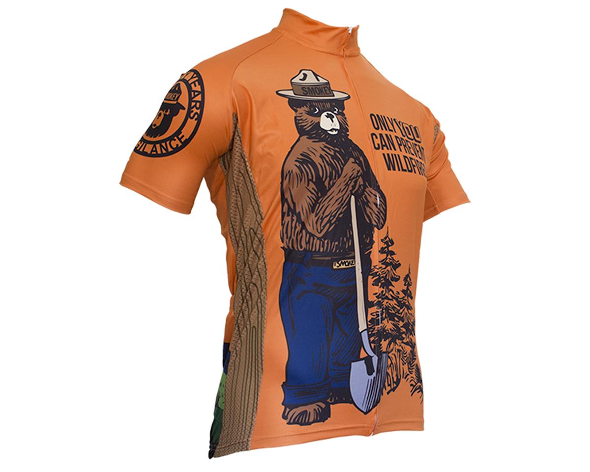 Retro Smokey Bear Men's Jersey (S)