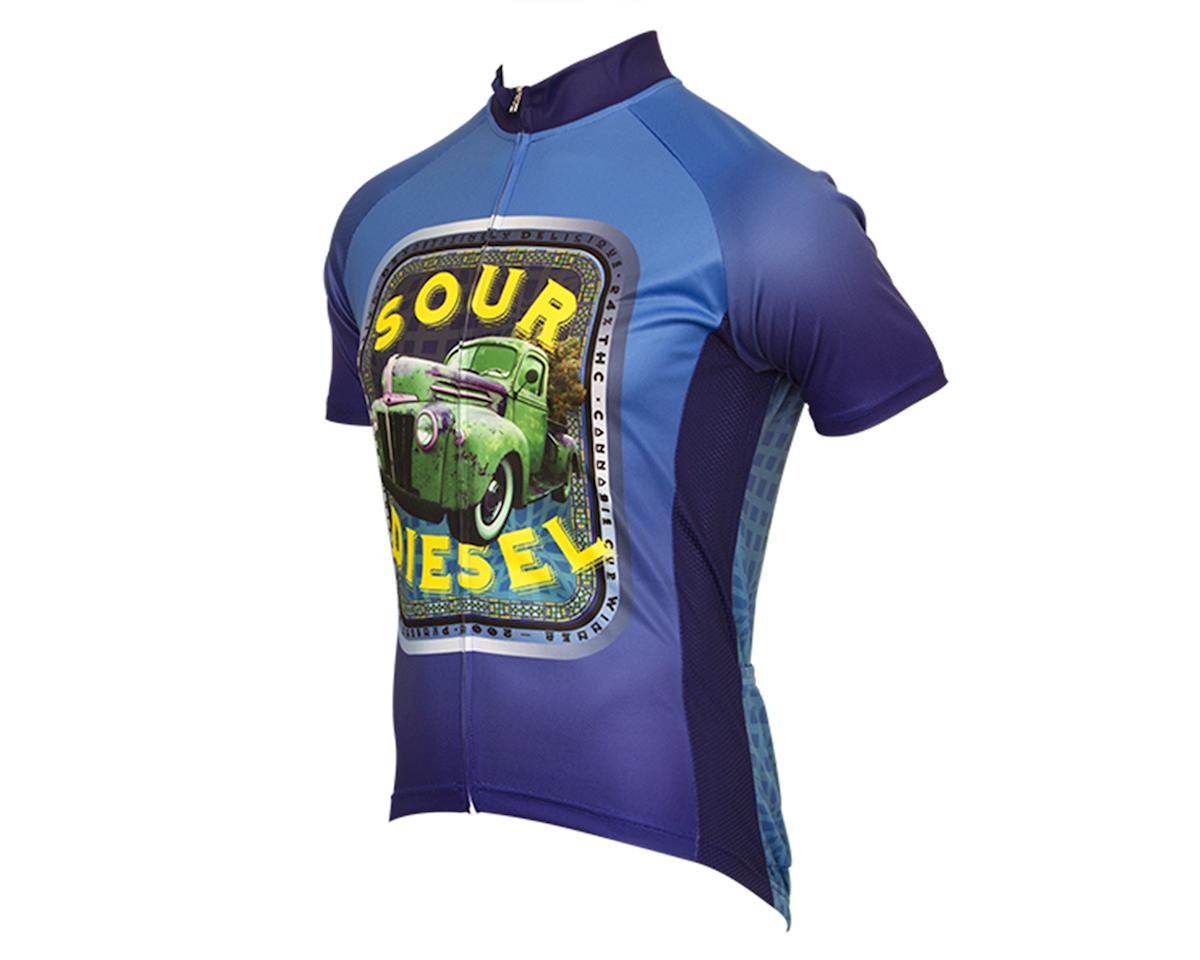 Retro Sour Diesel Men's Cycling Jersey