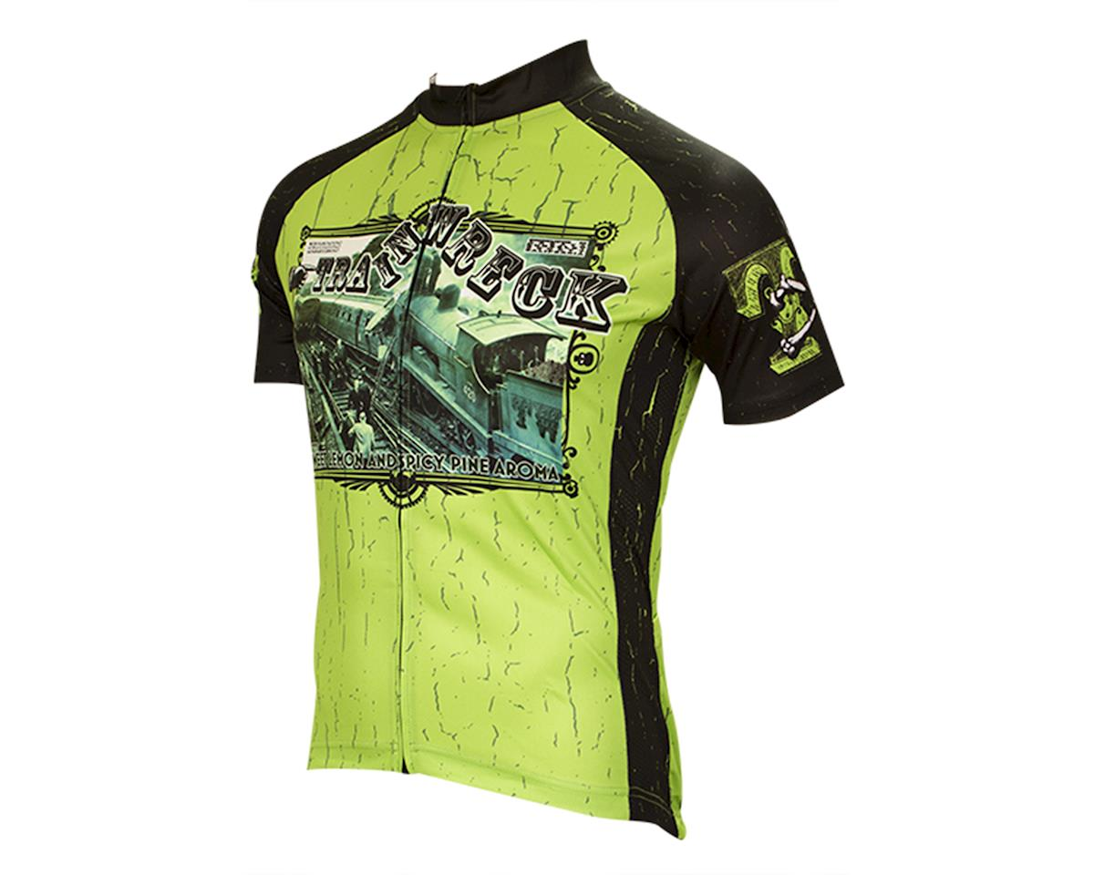 Retro Train Wreck Men's Cycling Jersey