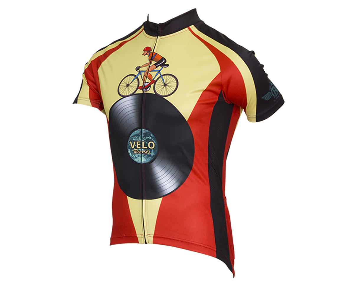 Retro Velo Records Men's Jersey (L)