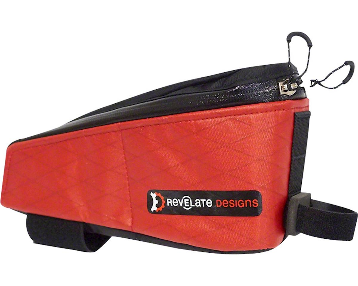 Revelate Designs Gas Tank Top Tube/Stem Bag, Red