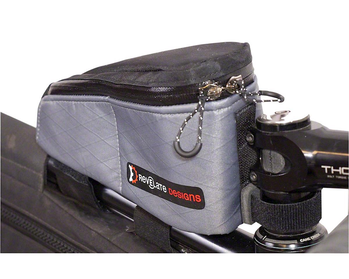 Revelate Designs Gas Tank Top Tube/Stem Bag (Steel Gray)