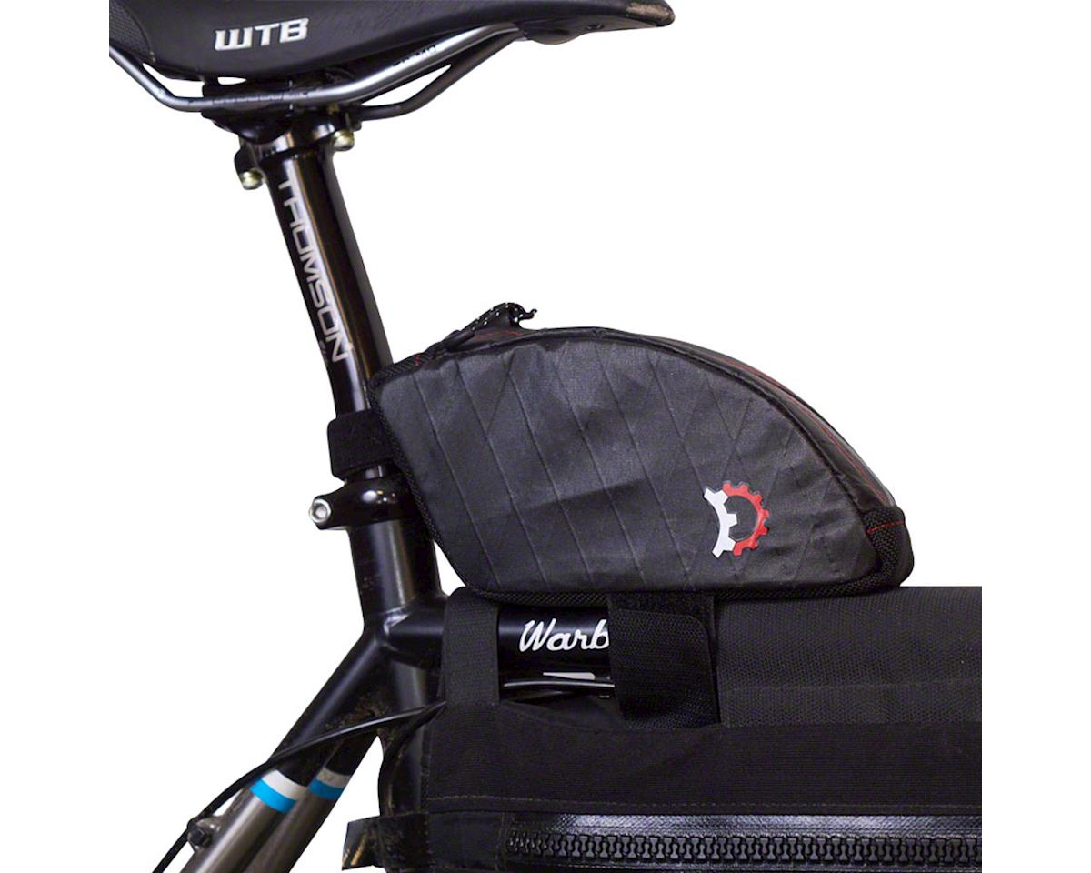 Revelate Designs Jerrycan Top-tube/Seatpost Bag, Bent, Black