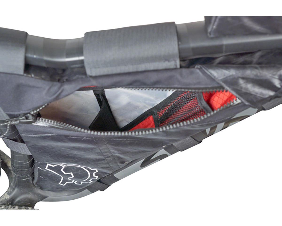 Revelate Designs Carbon Mukluk Frame Bag: Black, XS