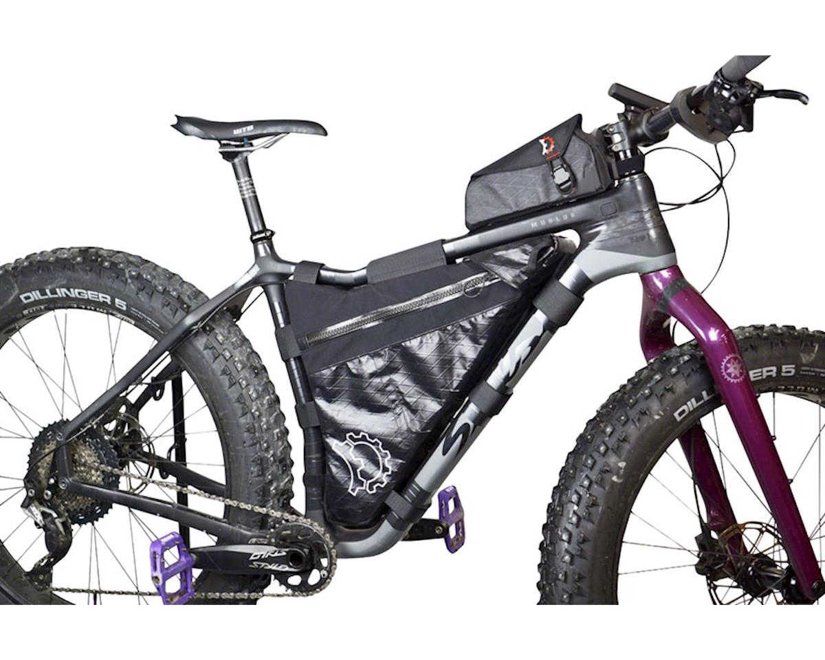 Revelate Designs Carbon Mukluk Frame Bag (Black) (XS)