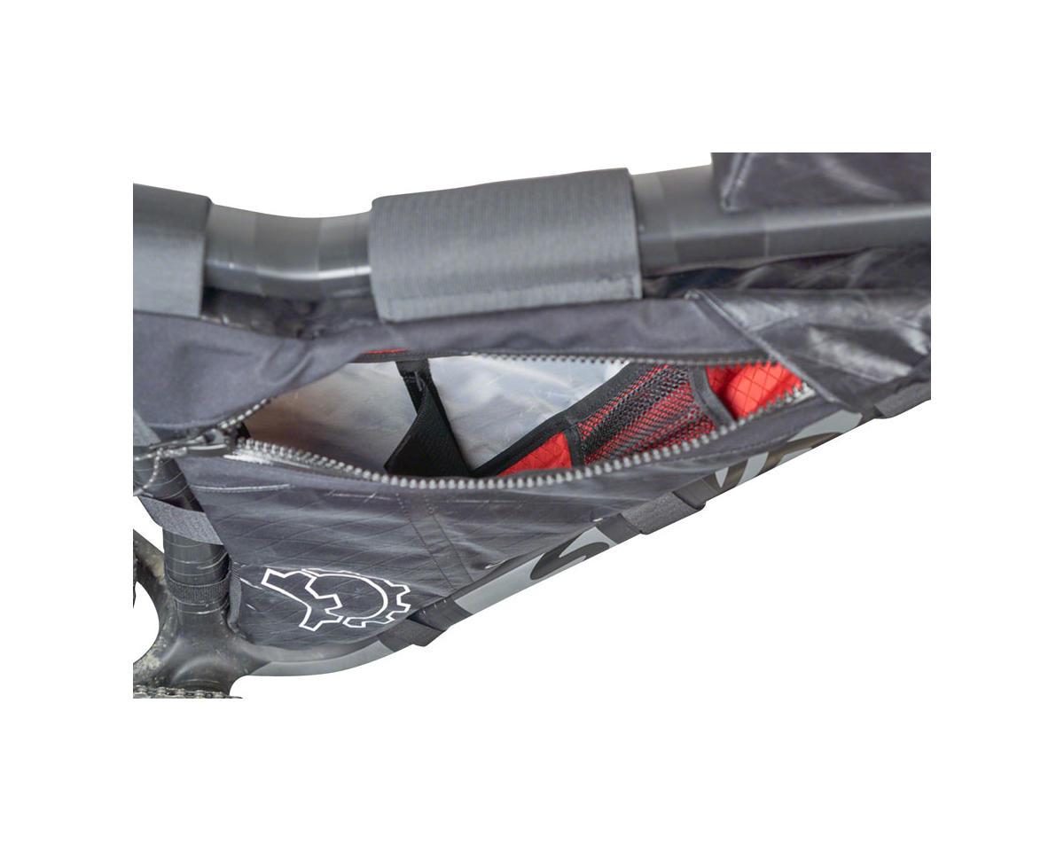 Revelate Designs Carbon Mukluk Frame Bag (Black) (M)