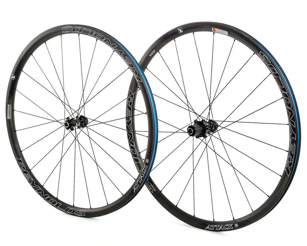 SCRATCH & DENT: Reynolds Attack Tubeless Road Centerlock Disc Wheelset (Shimano/SRAM)