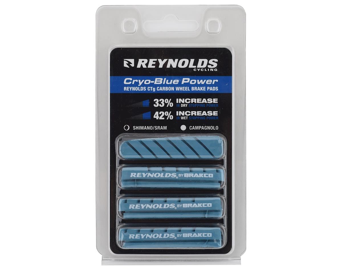 Reynolds Cryo-Blue Power Brake Pads (Shimano) (4Pk) (wide version)