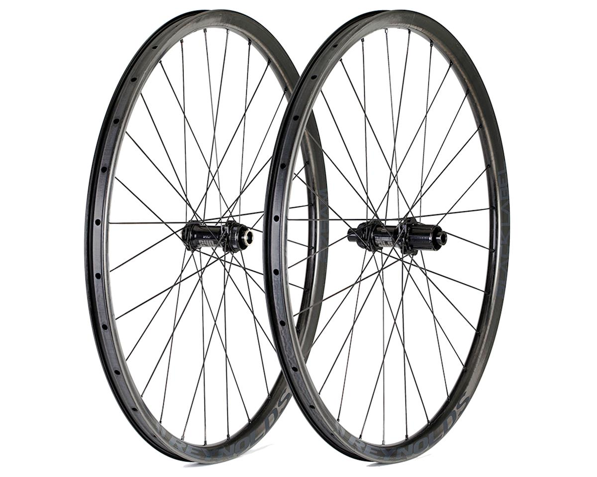 "Reynolds 2015 Black Label All Mountain Carbon Wheelset 27.5"" AM (28/28H) (Black) (Centerlock Dis"