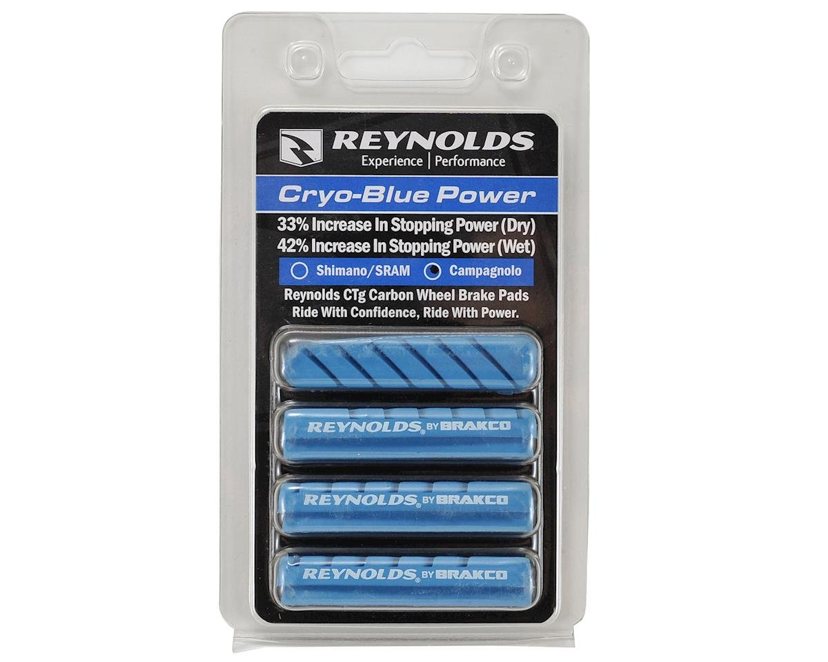 Reynolds Cryo-Blue Power Brake Pads (4) (Campagnolo)