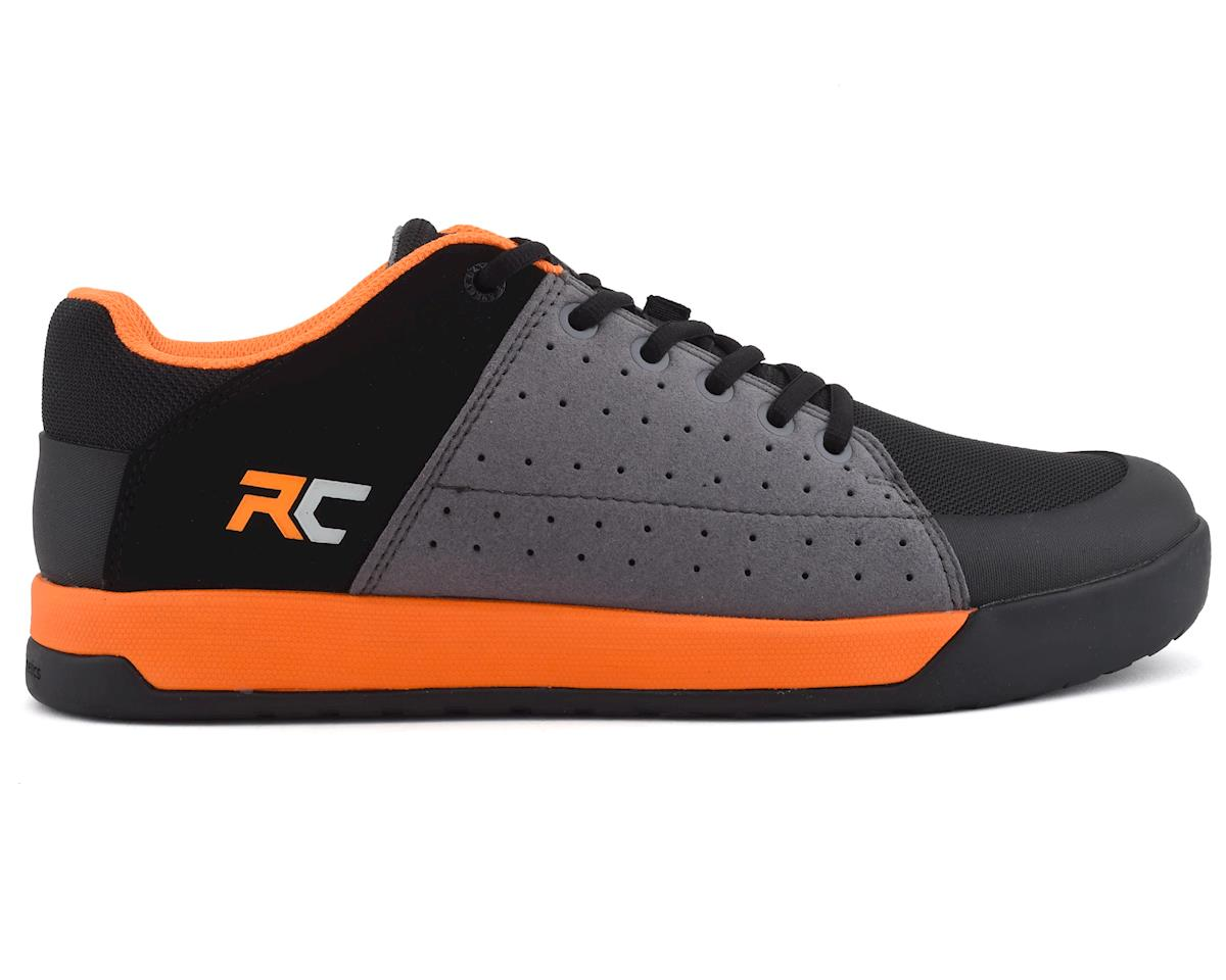 Ride Concepts Livewire Flat Pedal Shoe (Charcoal/Orange) (10)