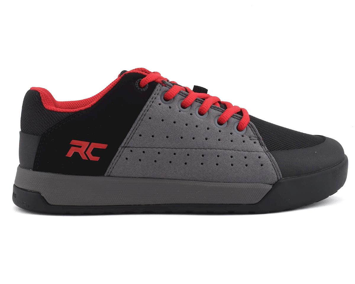Ride Concepts Youth Livewire Flat Pedal Shoe (Charcoal/Red) (Kids 4)