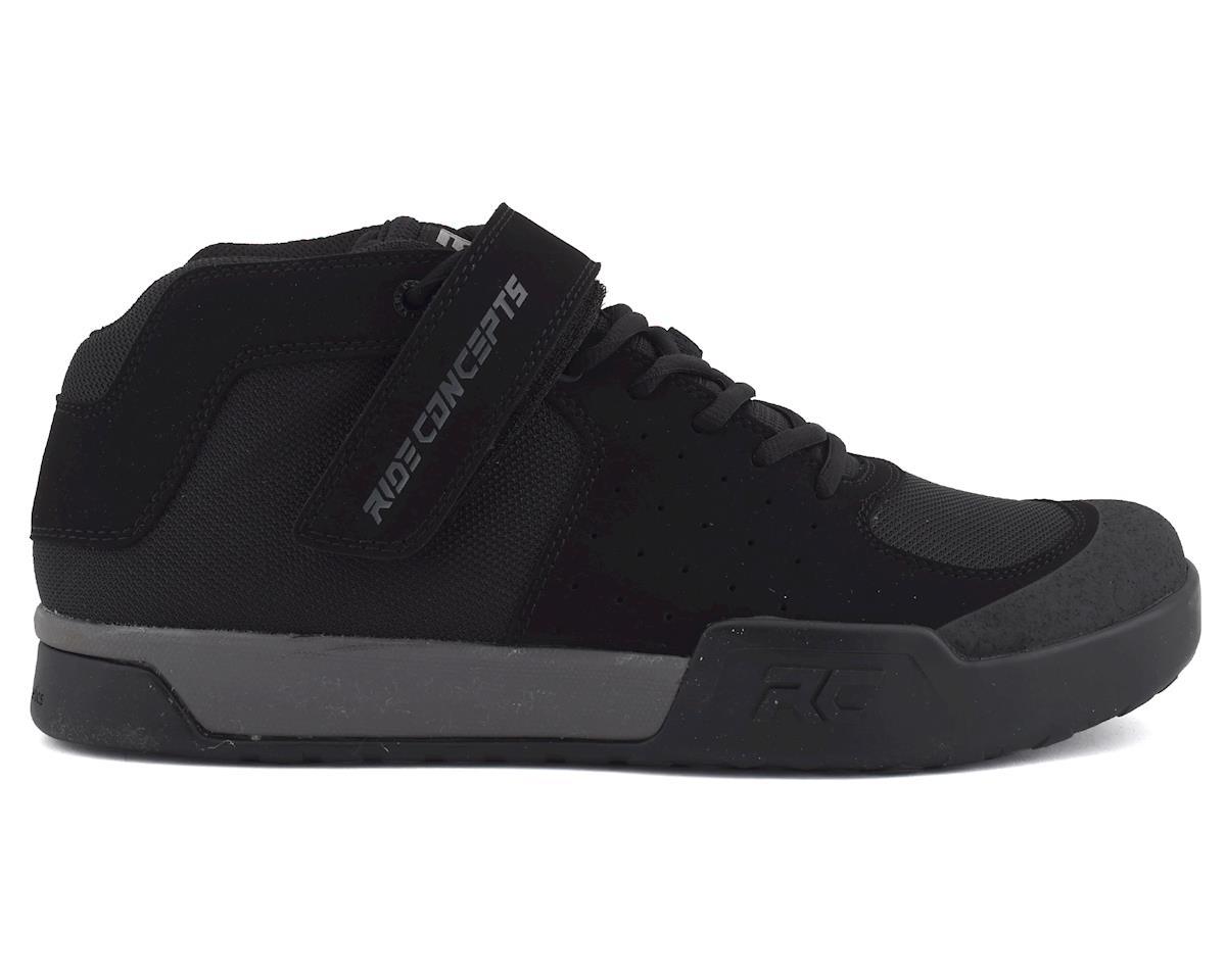 Ride Concepts Wildcat Flat Pedal Shoe (Black/Charcoal) (9)