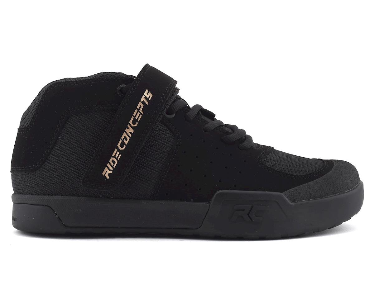 Ride Concepts Wildcat Women's Flat Pedal Shoe (Black/Gold) (10)