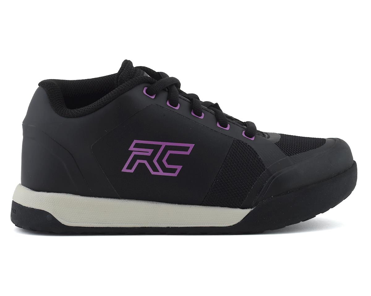Ride Concepts Women's Skyline Flat Pedal Shoe (Black/Purple) (5.5)