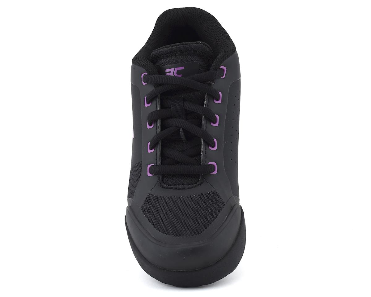 Ride Concepts Women's Skyline Flat Pedal Shoe (Black/Purple) (10)
