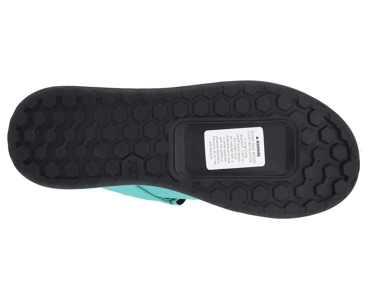 Image 2 for Ride Concepts Women's Traverse Clipless Shoe (Teal/Lime) (5)