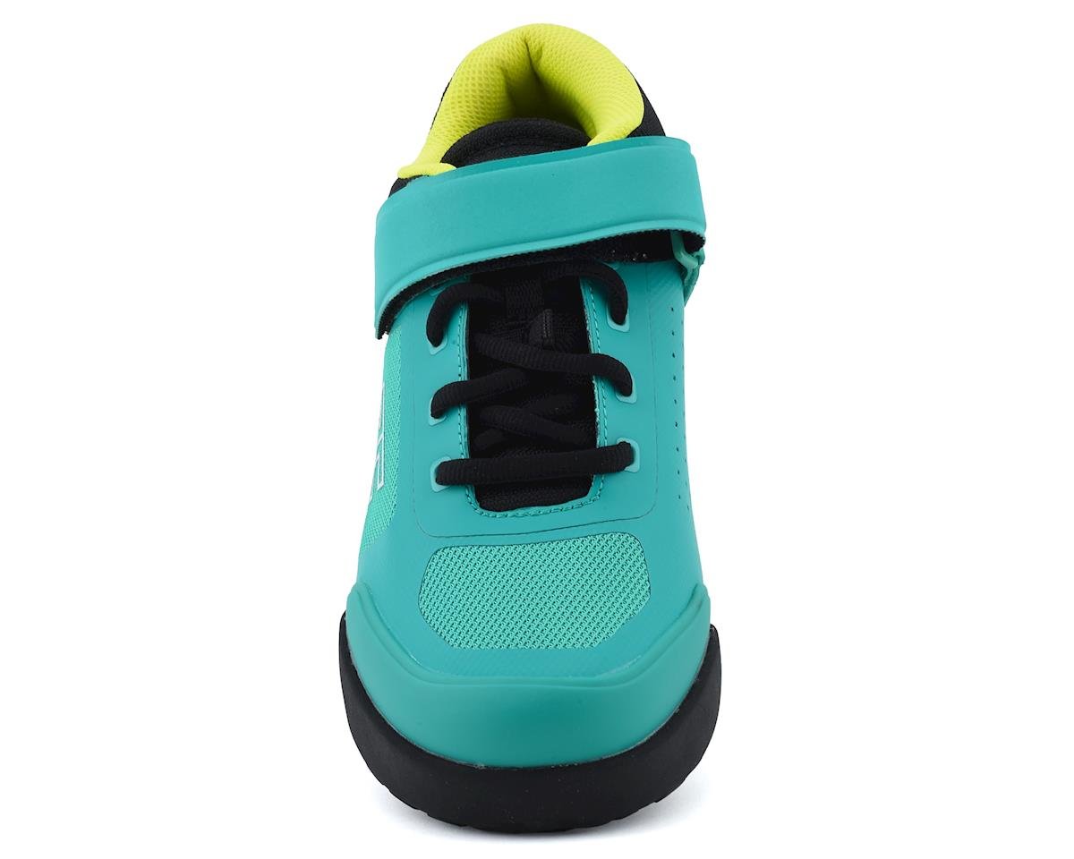 Ride Concepts Women's Traverse Clipless Shoe (Teal/Lime) (6)