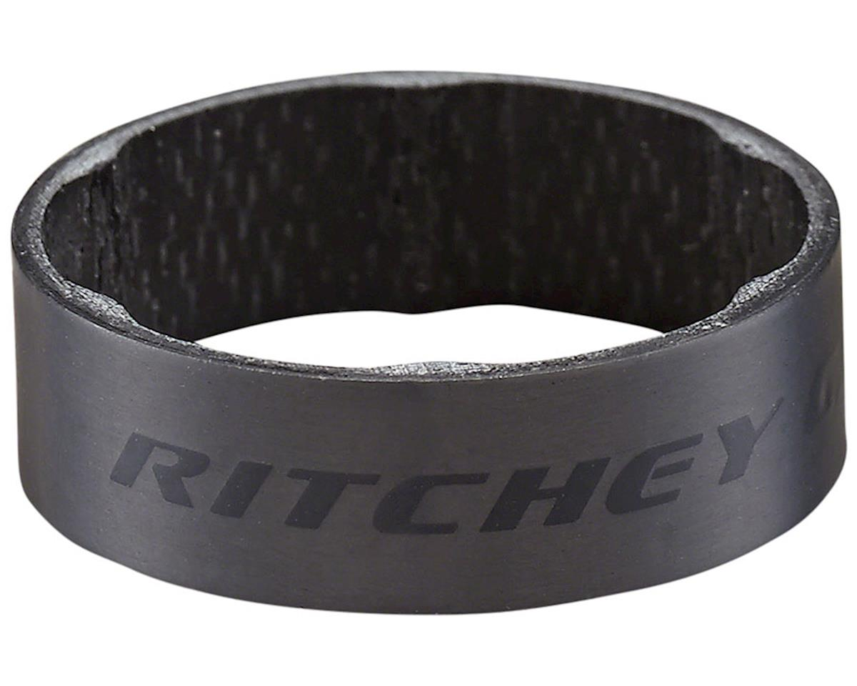 Ritchey WCS Carbon Headset Spacers (Black) (1-1/8) (10mm) (2)