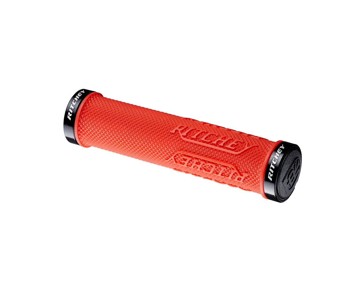 Ritchey WCS TrueGrip X Locking Grips (Red) (130mm)