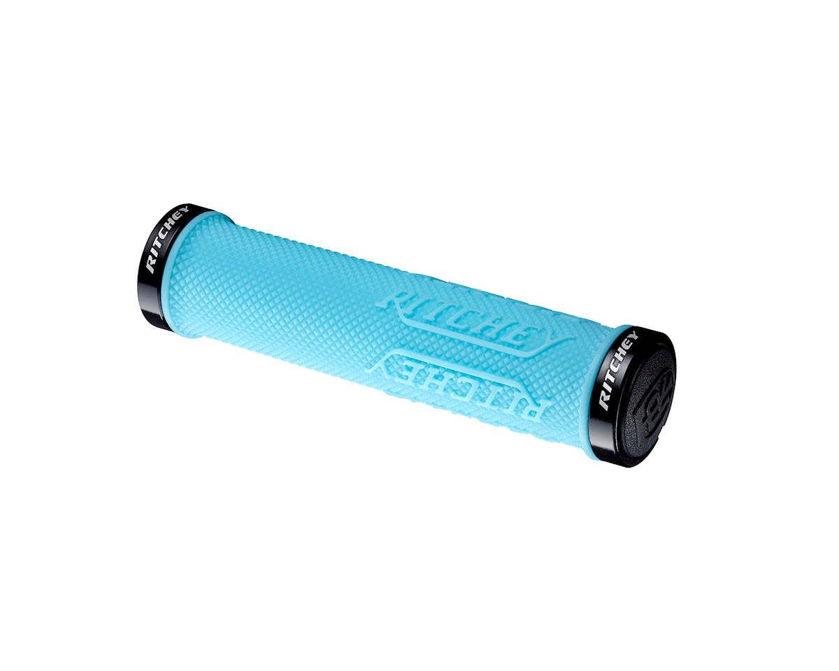Ritchey WCS TrueGrip X Locking Grips (Sky Blue) (130mm)