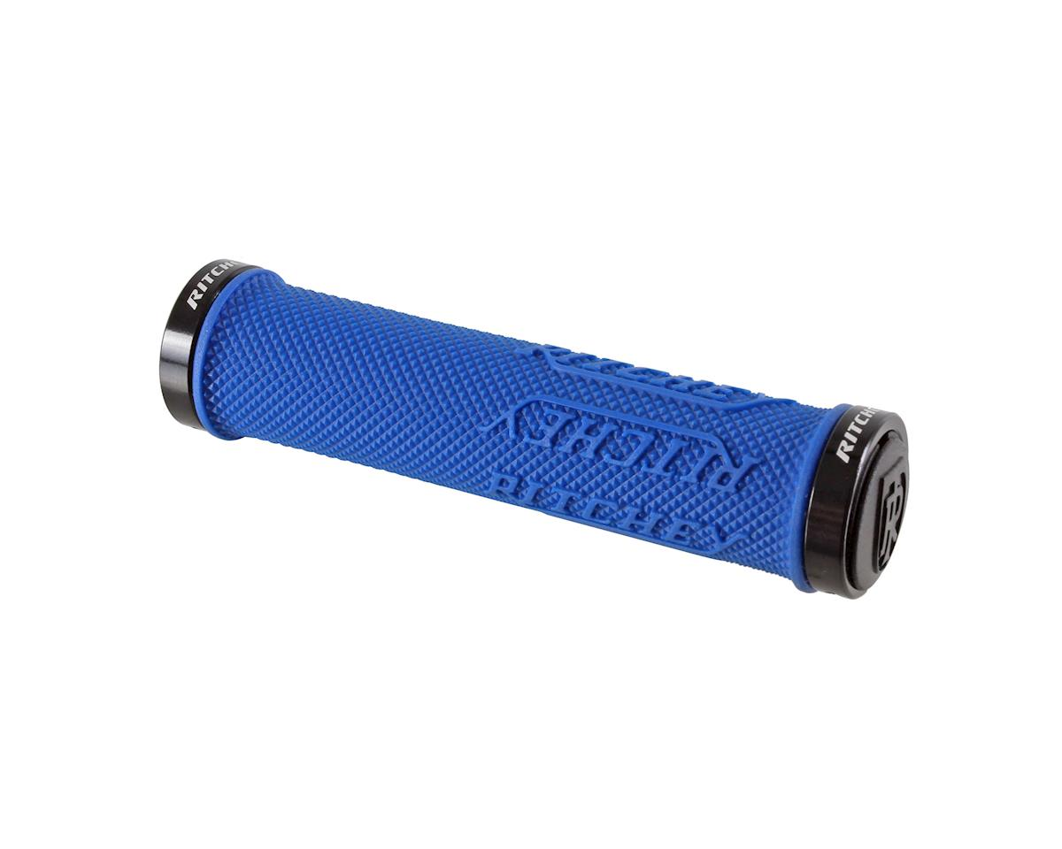 Ritchey WCS TrueGrip x Locking Grips (Royal Blue) (130mm)