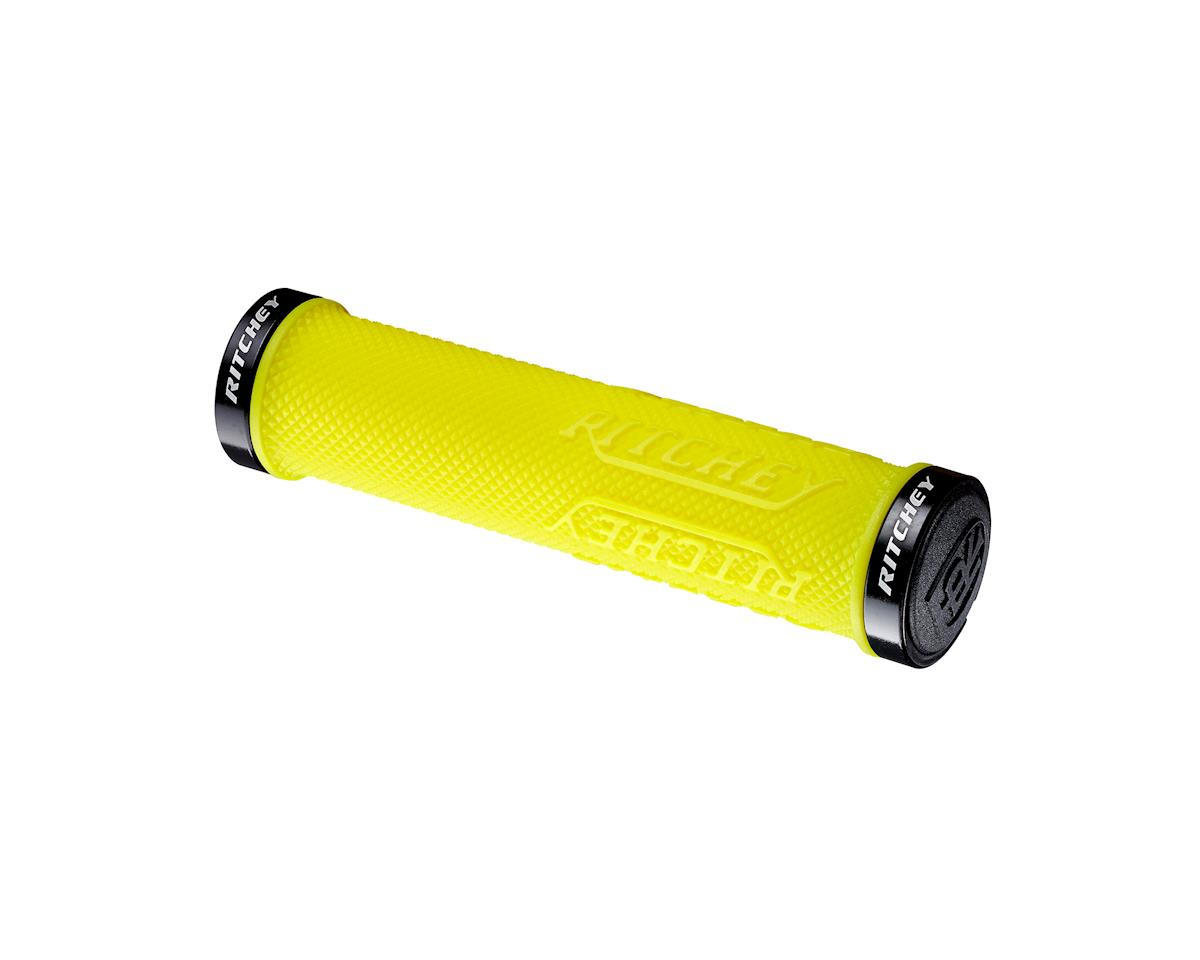 Ritchey WCS TrueGrip X Locking Grips (Yellow) (130mm)