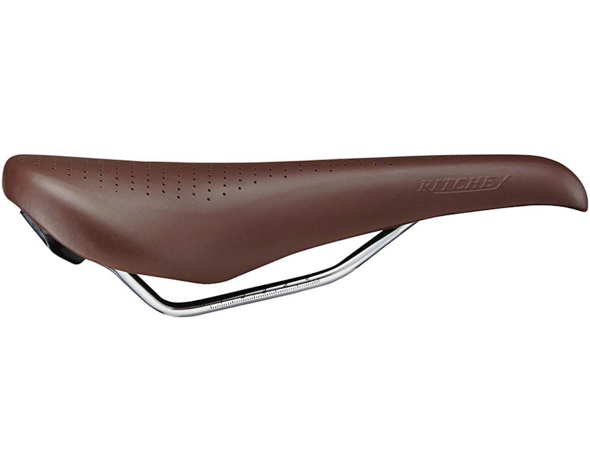 Ritchey Classic Saddle (Brown) (145mm Width) (CrMo Rail)