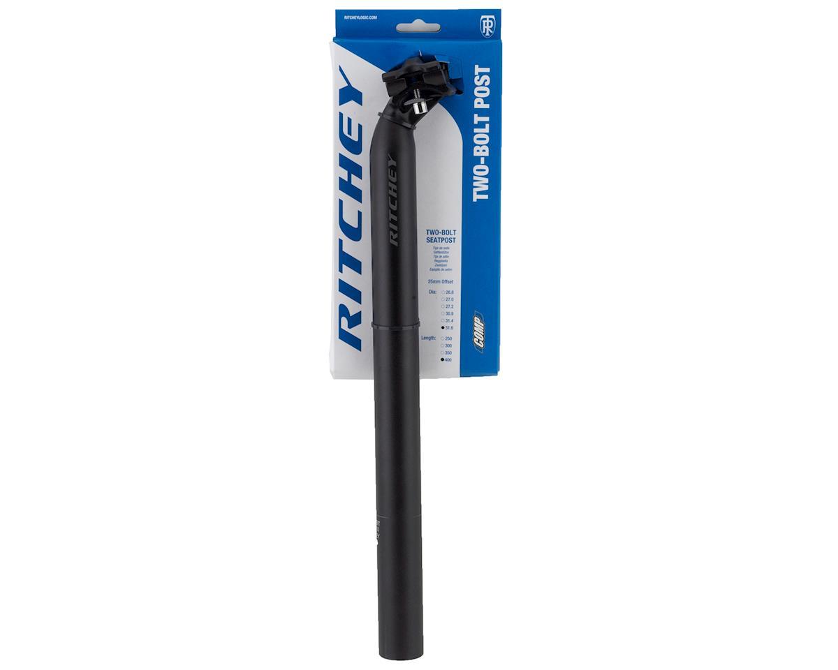 Ritchey Comp 2-Bolt Seatpost (Black) (31.6mm) (400mm)