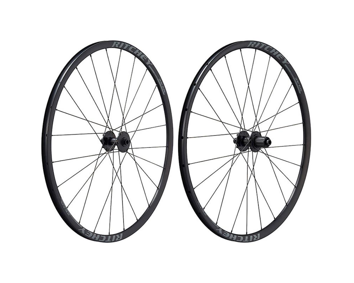 Ritchey Zeta Comp Disc 700c Wheelset (Black) (Shimano/Sram 11-Speed)