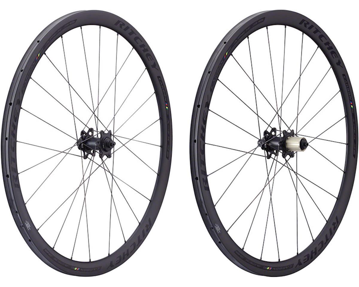Ritchey WCS Apex 36 Disc Tubular Wheelset (Black) (700c) (Shimano)