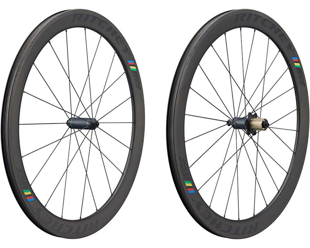 Ritchey WCS Apex 50 Tubeless Wheelset (Black) (QR x 100/130) (700c) | relatedproducts