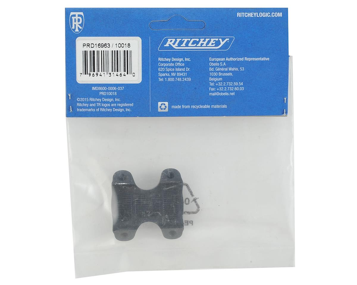 Ritchey WCS C260 Stem Replacement Face Plate (Wet Black)