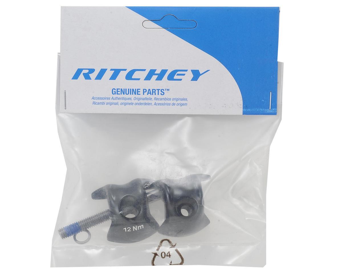 Ritchey Carbon 1-Bolt Seatpost Clamp Kit (7x9.6mm Rails) (Black)