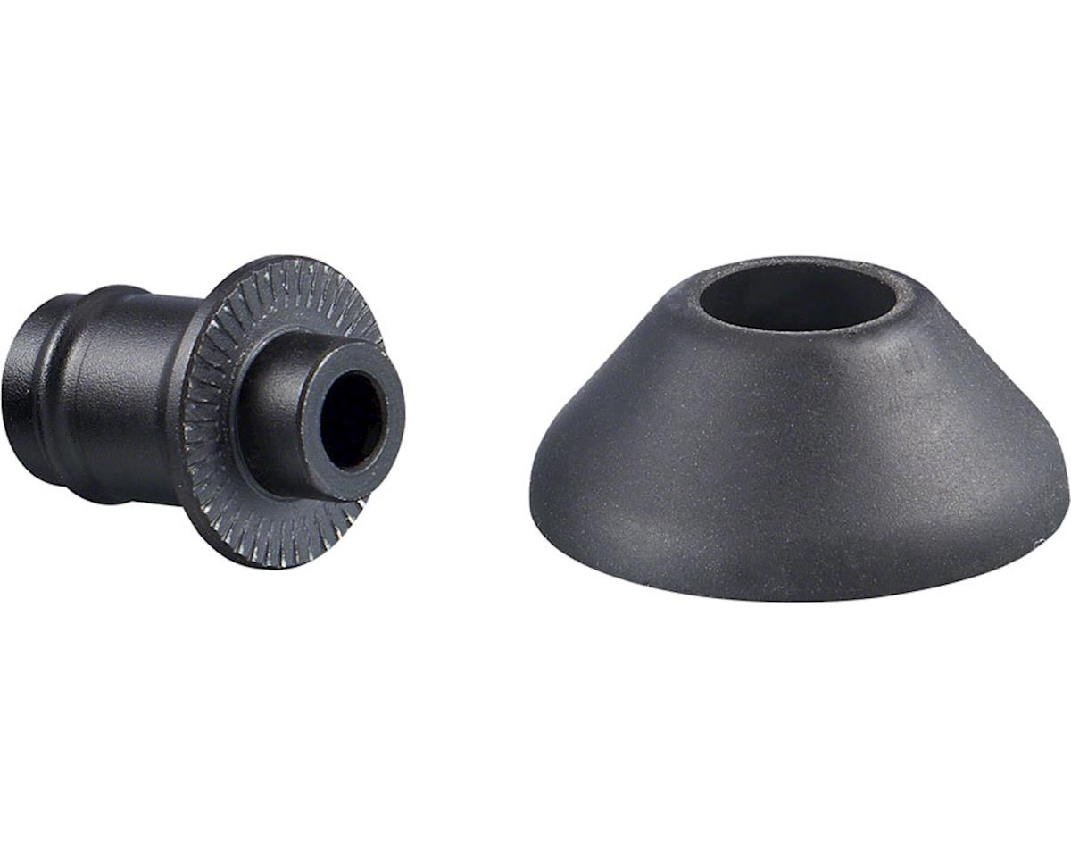Ritchey Phantom Flange Rear Hub End Caps (Black)
