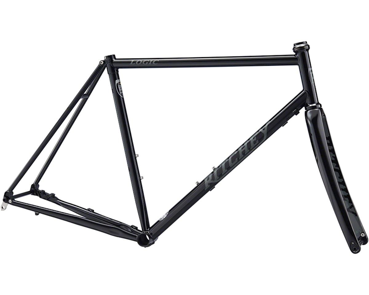 Image 1 for Ritchey Road Logic Disc Frameset (Black/Grey) (53)