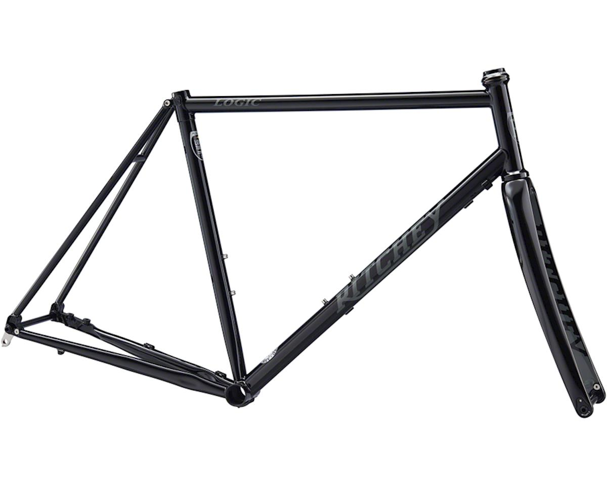 Ritchey Road Logic Disc Frameset (Black/Grey) (55)