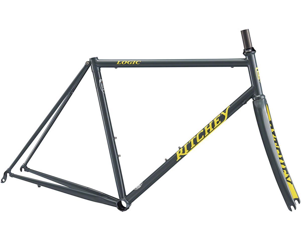 Ritchey Road Logic Frameset (Grey/Yellow) (55)