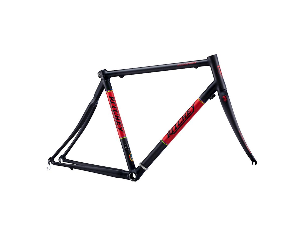 Ritchey WCS Road Break Away Carbon Frameset (Black/Rred) (XL)