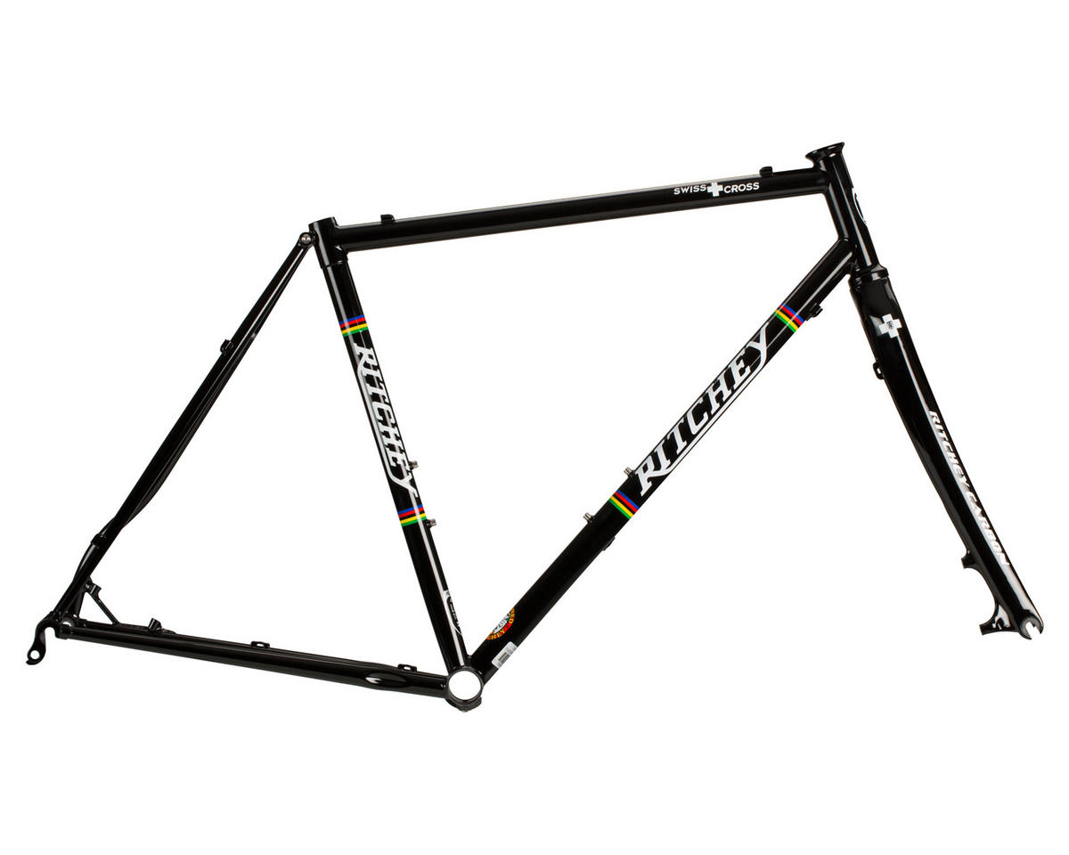 Swiss Cross CX Disc Frameset (Black)