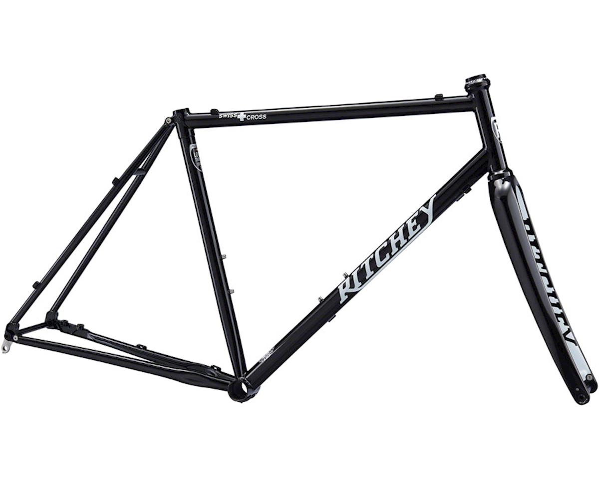 Ritchey Swiss Cross V2 Disc Frameset (Black) (2XL)