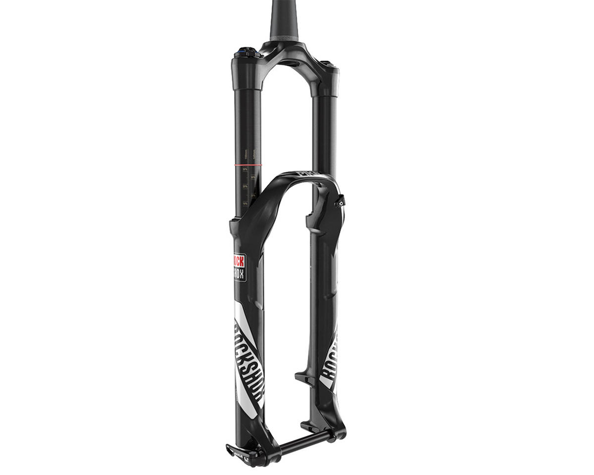 "RockShox Pike RCT3 Solo Air 27.5"" Fork 150mm (1.5 to 1-1/8"" tapered) (Black)"